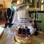 jewelry display at Salon del Rio in Elephant Butte