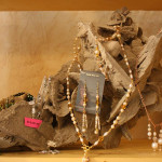 jewelry display in the boutique