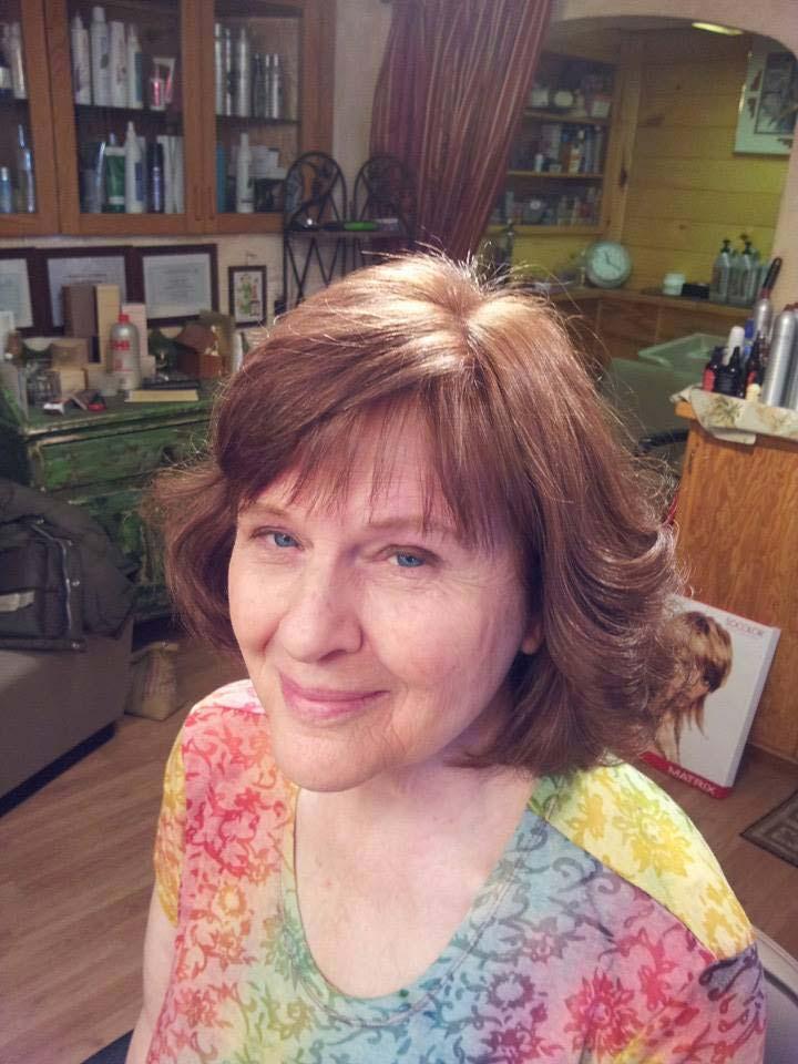 hair style by Holly Marino at Salon del Rio